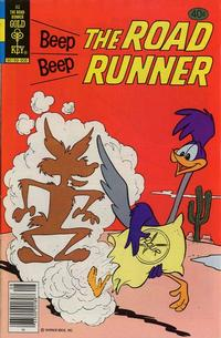 Cover Thumbnail for Beep Beep the Road Runner (Western, 1966 series) #82 [Gold Key]