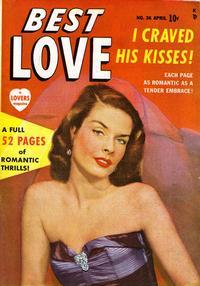 Cover Thumbnail for Best Love (Marvel, 1949 series) #36