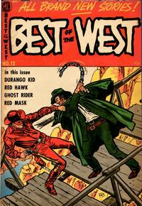 Cover Thumbnail for Best of the West (Magazine Enterprises, 1951 series) #12 [A-1 #103]
