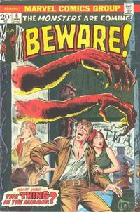 Cover Thumbnail for Beware (Marvel, 1973 series) #6