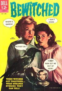 Cover Thumbnail for Bewitched (Dell, 1965 series) #3