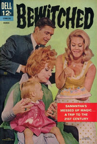 Cover Thumbnail for Bewitched (Dell, 1965 series) #8