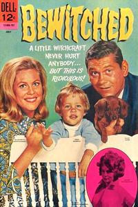 Cover Thumbnail for Bewitched (Dell, 1965 series) #10