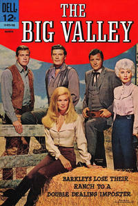 Cover Thumbnail for The Big Valley (Dell, 1966 series) #3