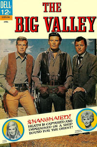 Cover Thumbnail for The Big Valley (Dell, 1966 series) #4