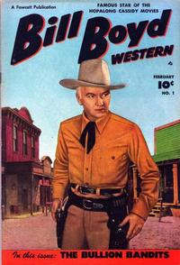 Cover Thumbnail for Bill Boyd Western (Fawcett, 1950 series) #1
