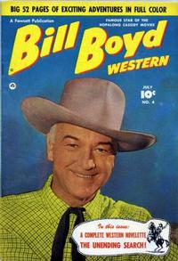 Cover Thumbnail for Bill Boyd Western (Fawcett, 1950 series) #4
