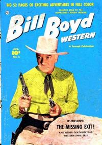 Cover Thumbnail for Bill Boyd Western (Fawcett, 1950 series) #5