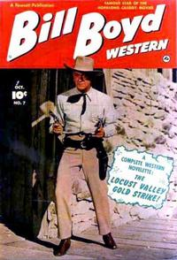 Cover Thumbnail for Bill Boyd Western (Fawcett, 1950 series) #7