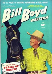 Cover Thumbnail for Bill Boyd Western (Fawcett, 1950 series) #9