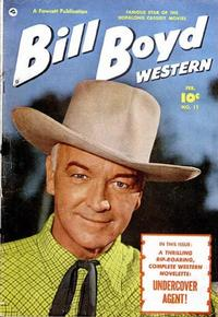 Cover Thumbnail for Bill Boyd Western (Fawcett, 1950 series) #11