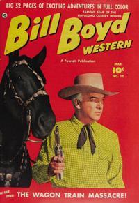 Cover Thumbnail for Bill Boyd Western (Fawcett, 1950 series) #12
