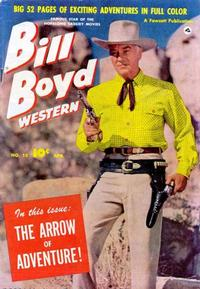 Cover Thumbnail for Bill Boyd Western (Fawcett, 1950 series) #13