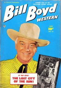 Cover Thumbnail for Bill Boyd Western (Fawcett, 1950 series) #15