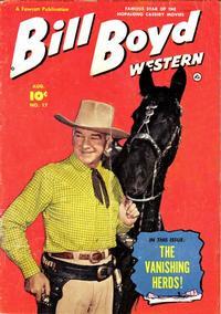 Cover Thumbnail for Bill Boyd Western (Fawcett, 1950 series) #17