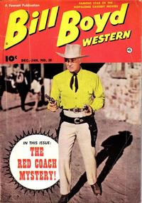 Cover Thumbnail for Bill Boyd Western (Fawcett, 1950 series) #20