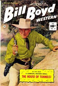 Cover Thumbnail for Bill Boyd Western (Fawcett, 1950 series) #21