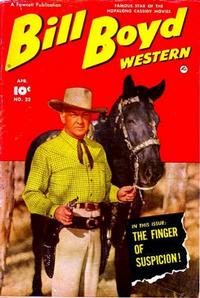 Cover Thumbnail for Bill Boyd Western (Fawcett, 1950 series) #22
