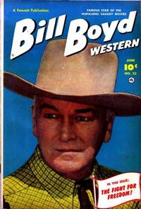 Cover Thumbnail for Bill Boyd Western (Fawcett, 1950 series) #23