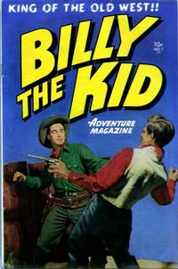 Cover Thumbnail for Billy the Kid Adventure Magazine (Toby, 1950 series) #1