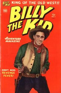 Cover Thumbnail for Billy the Kid Adventure Magazine (Toby, 1950 series) #5