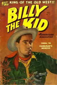 Cover Thumbnail for Billy the Kid Adventure Magazine (Toby, 1950 series) #7
