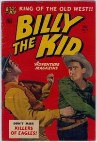 Cover Thumbnail for Billy the Kid Adventure Magazine (Toby, 1950 series) #9