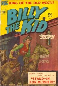 Cover Thumbnail for Billy the Kid Adventure Magazine (Toby, 1950 series) #10