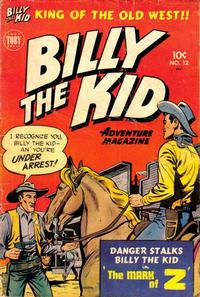 Cover Thumbnail for Billy the Kid Adventure Magazine (Toby, 1950 series) #12