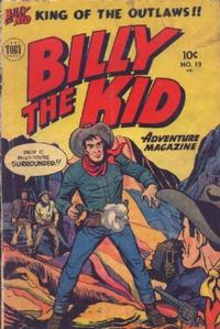 Cover Thumbnail for Billy the Kid Adventure Magazine (Toby, 1950 series) #13