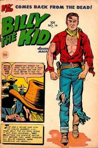 Cover Thumbnail for Billy the Kid Adventure Magazine (Toby, 1950 series) #14
