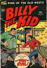 Cover Thumbnail for Billy the Kid Adventure Magazine (Toby, 1950 series) #15