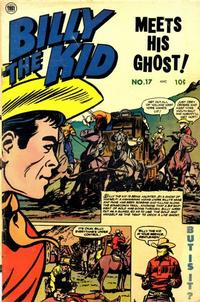 Cover Thumbnail for Billy the Kid Adventure Magazine (Toby, 1950 series) #17