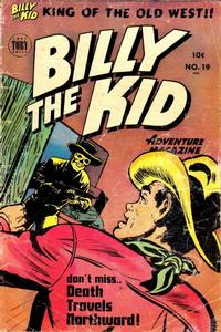 Cover Thumbnail for Billy the Kid Adventure Magazine (Toby, 1950 series) #19