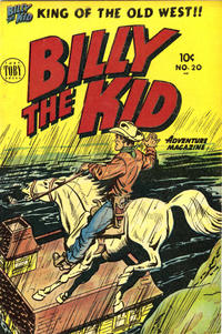 Cover Thumbnail for Billy the Kid Adventure Magazine (Toby, 1950 series) #20