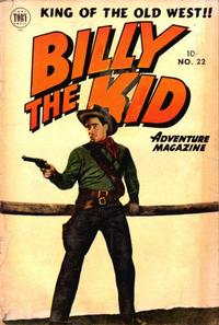 Cover Thumbnail for Billy the Kid Adventure Magazine (Toby, 1950 series) #22