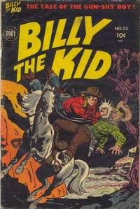 Cover Thumbnail for Billy the Kid Adventure Magazine (Toby, 1950 series) #23