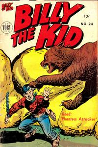 Cover Thumbnail for Billy the Kid Adventure Magazine (Toby, 1950 series) #24