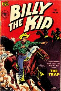 Cover Thumbnail for Billy the Kid Adventure Magazine (Toby, 1950 series) #25