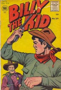 Cover Thumbnail for Billy the Kid Adventure Magazine (Toby, 1950 series) #29