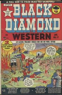 Cover Thumbnail for Black Diamond Western (Lev Gleason, 1949 series) #17