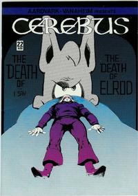 Cover Thumbnail for Cerebus (Aardvark-Vanaheim, 1977 series) #22
