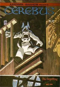 Cover Thumbnail for Cerebus (Aardvark-Vanaheim, 1977 series) #24