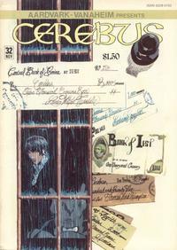 Cover Thumbnail for Cerebus (Aardvark-Vanaheim, 1977 series) #32