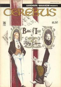 Cover Thumbnail for Cerebus (Aardvark-Vanaheim, 1977 series) #35
