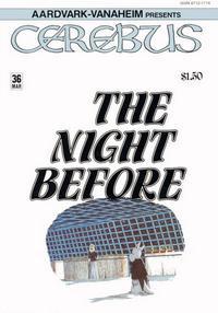 Cover Thumbnail for Cerebus (Aardvark-Vanaheim, 1977 series) #36