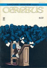 Cover Thumbnail for Cerebus (Aardvark-Vanaheim, 1977 series) #37