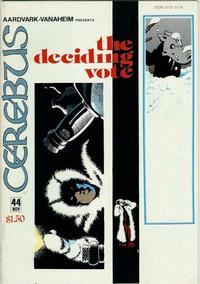 Cover Thumbnail for Cerebus (Aardvark-Vanaheim, 1977 series) #44