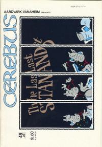 Cover Thumbnail for Cerebus (Aardvark-Vanaheim, 1977 series) #49
