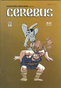 Cover Thumbnail for Cerebus (Aardvark-Vanaheim, 1977 series) #52